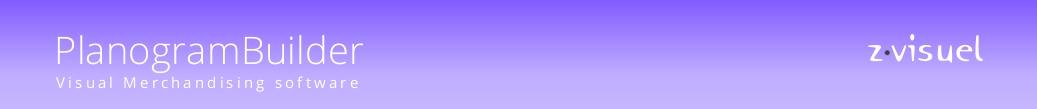 zVisuel PlanogramBuilder - Visual Merchandising Software
